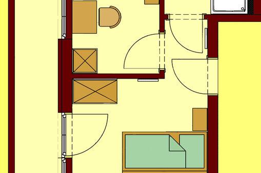 familienzimmer f r 4 personen in schladming planai. Black Bedroom Furniture Sets. Home Design Ideas